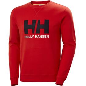 Helly Hansen HH Logo Suéter de cuello redondo Hombre, rojo